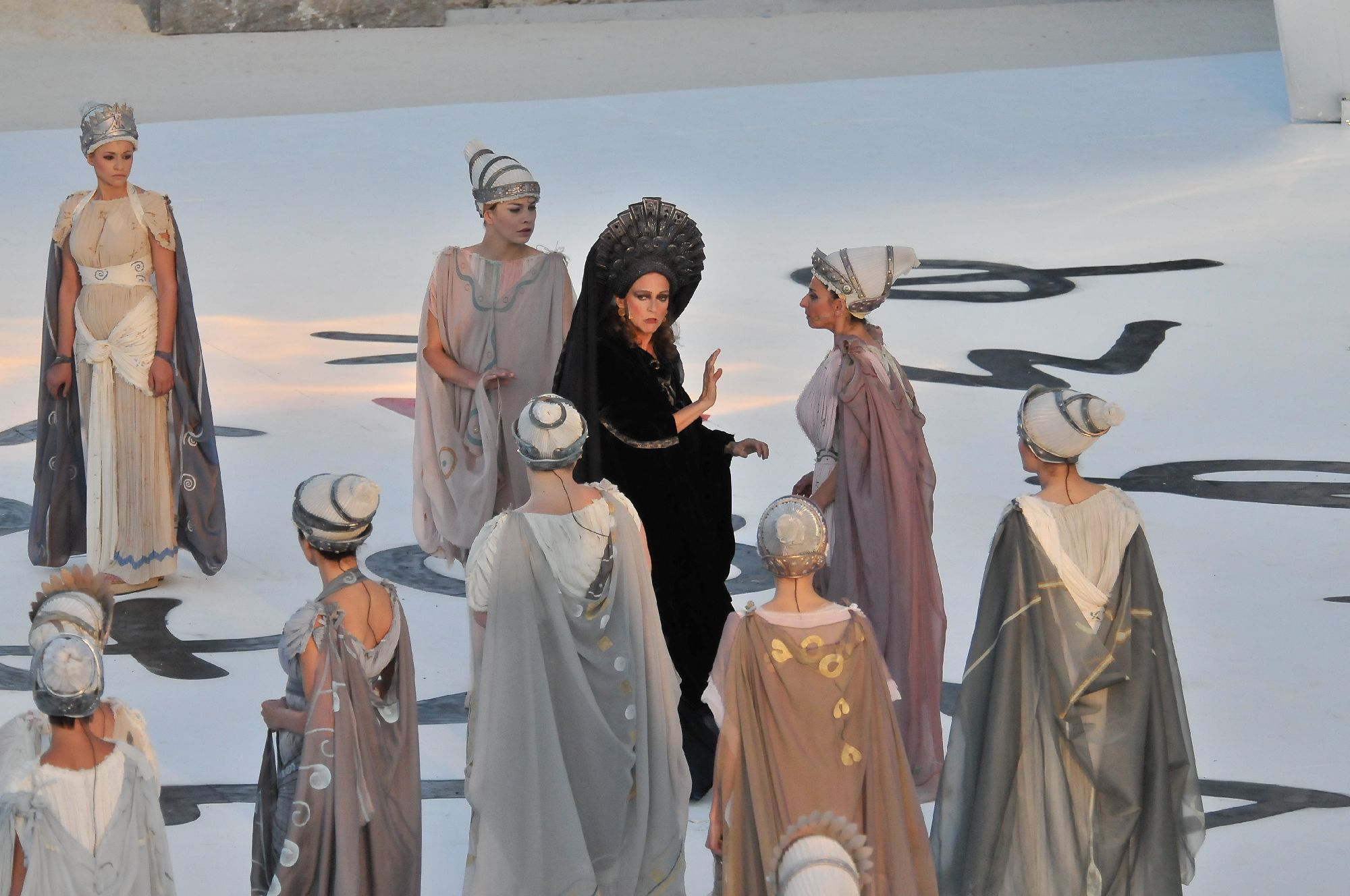 45th Season Of Classical Plays At The Greek Theatre In Syracuse Euripidess Medea Sophocless Oedipus Colonus